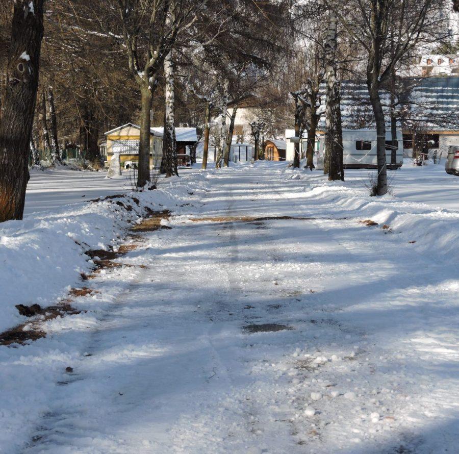 Camping en Savoie Les Mélèzes en hiver