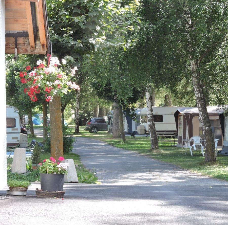 Camping en Savoie Les Mélèzes en été