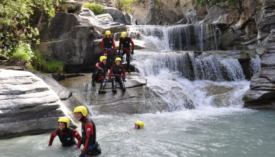 Rafting Camping Les Mélèzes-La Fennaz en été