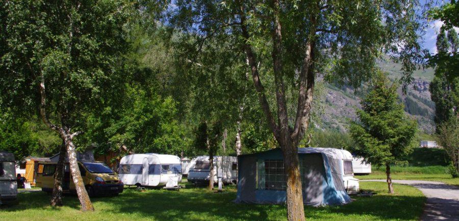 Emplacements camping Les Mélèzes-La Fennaz