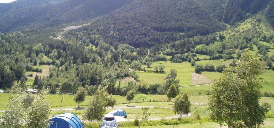 Emplacements camping Vallée de la Vanoise
