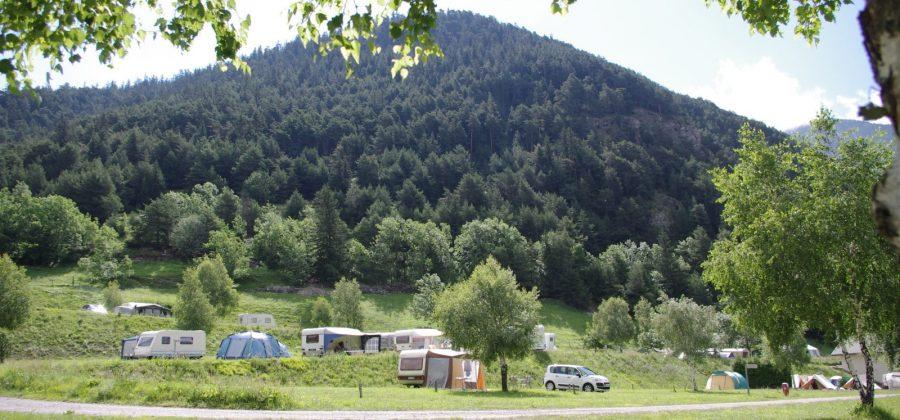 Les Mélèzes-La Fennaz emplacements camping