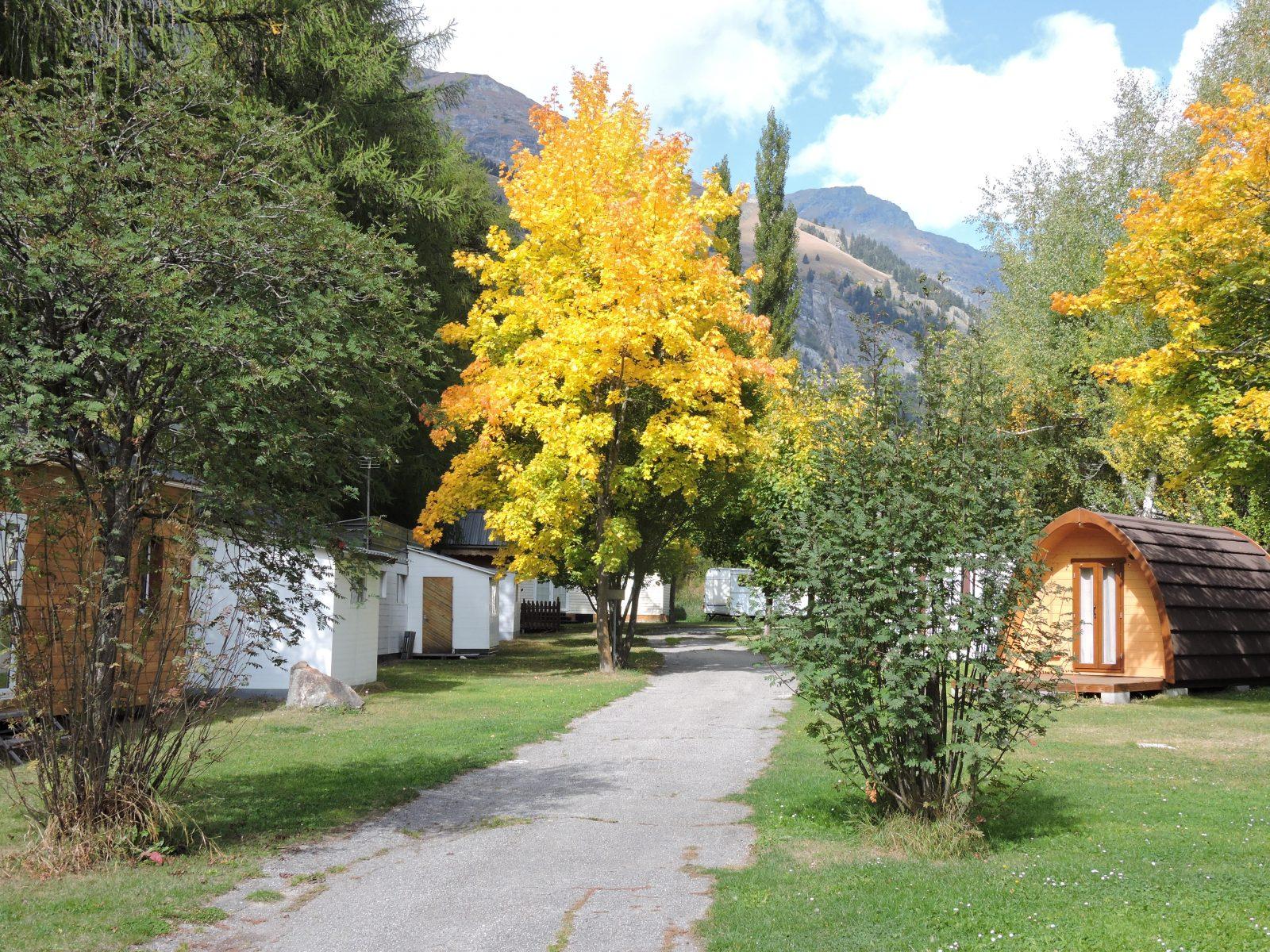 camping Les Mélèzes-La Fennaz en Savoie