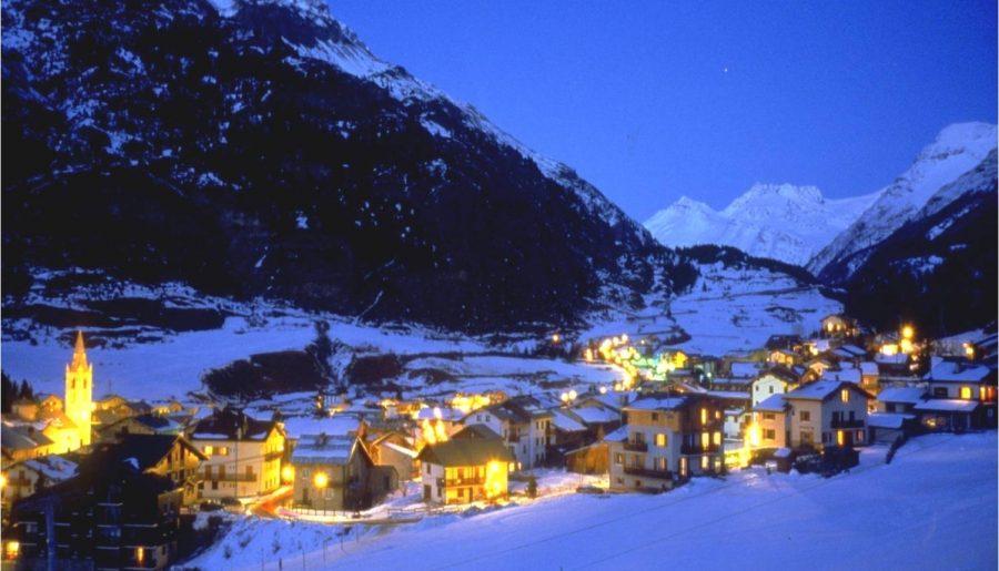 Camping Les Mélèzes-La Fennaz en hiver
