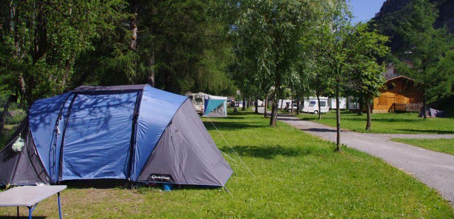 Emplacements camping en Savoie