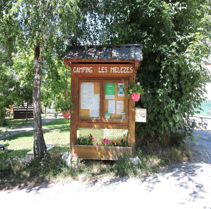 Accueil Camping les Mélèzes-La Fennaz